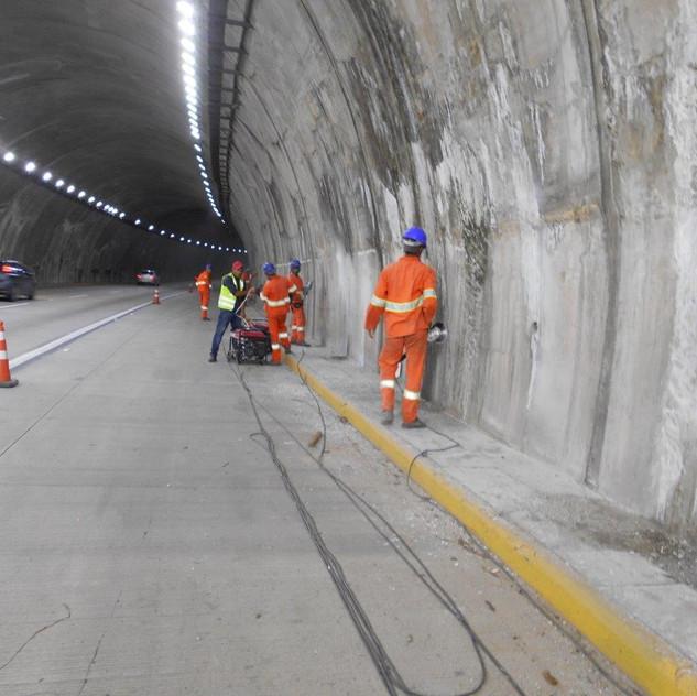 Recuperação de OAE - Túneis (19)