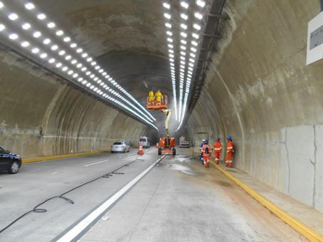 Ecopistas - Recuperação de OAE - Túneis (SP-070)