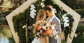 5 čerstvých svatebních barev na léto