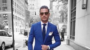 Modrý oblek je základ