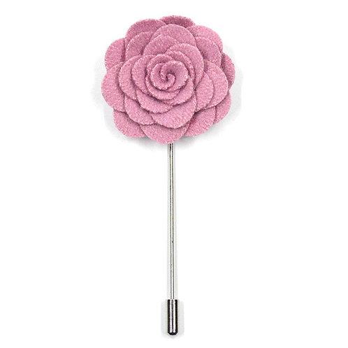 Ružová květina - ozdoba do klopy