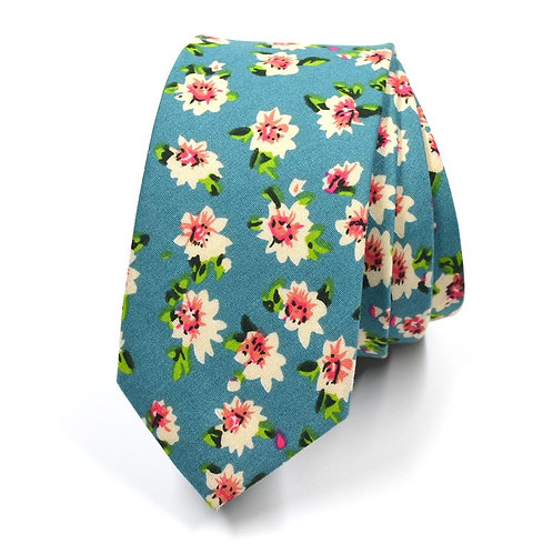 Týlová květinová kravata