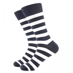 Barevné ponožky - Šedé proužky