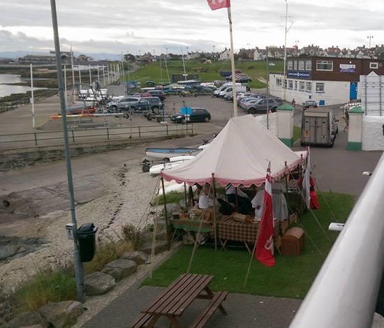 Pirates setup during Gaffers weekend