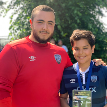 U13 Blue Player of the Year