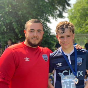 U13 Blue Most Imprroved player