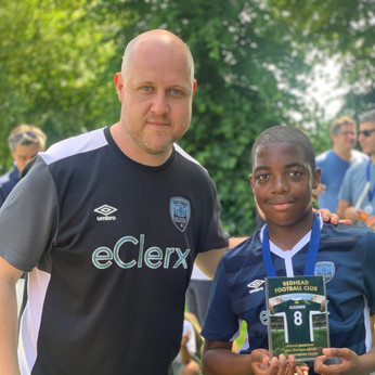 U12 Azzuri Most Improved player