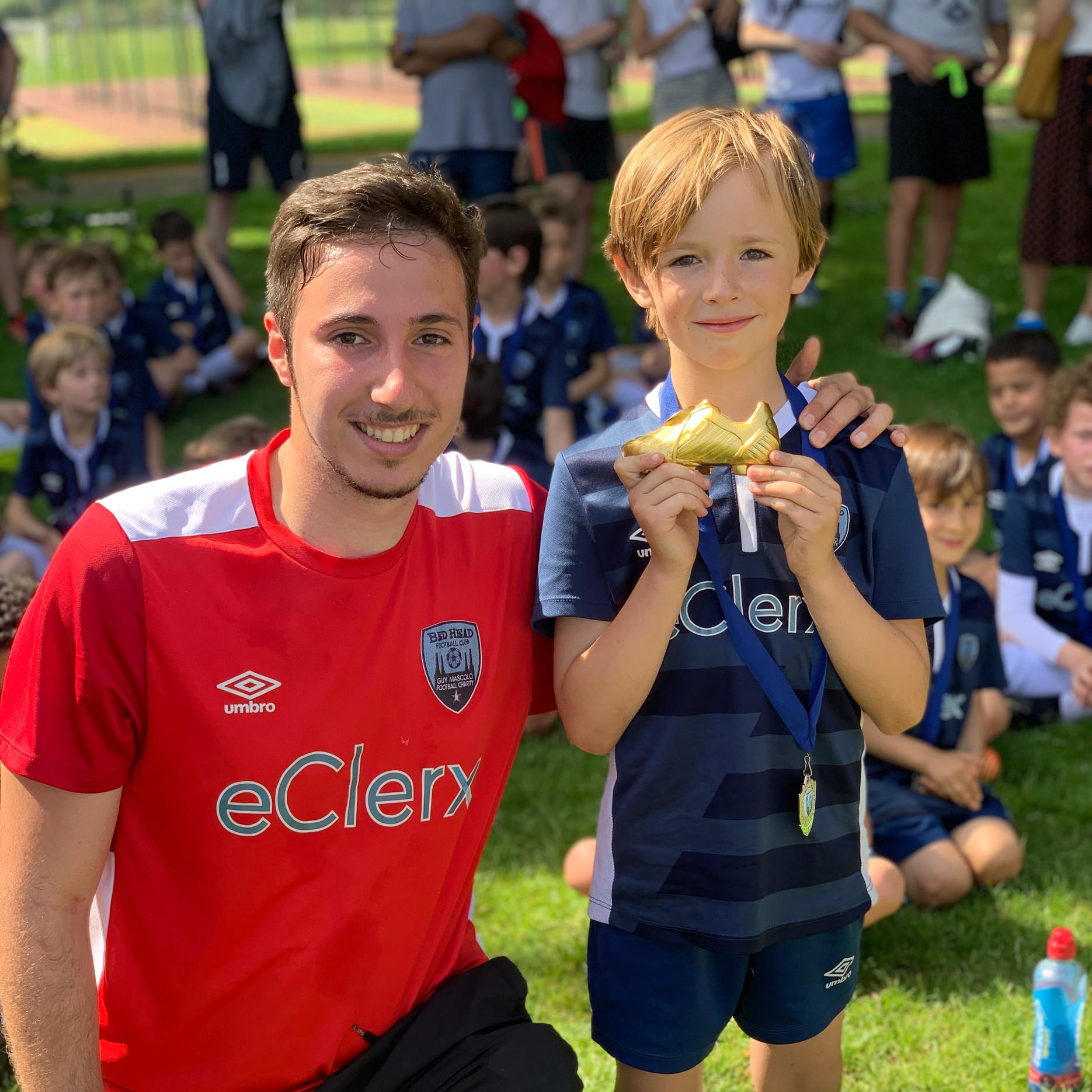U7 Blue Top Goal Scorer
