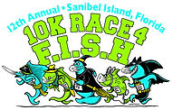 FISH RACE 2020 animals with masks outlin