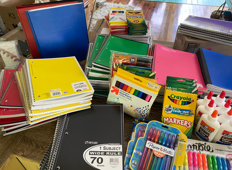 Back-to-School Supplies and Tutoring through FISH OF SANCAP