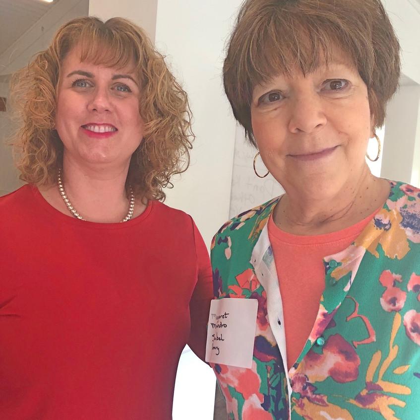 Lisa Heidrick, Margaret Mohundro