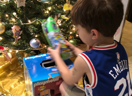 FISH OF SANCAP Holds Holiday Toy Drive
