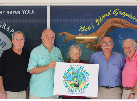 Bob's Island Graphics Continues  Silver Sponsorship of 8th Annual 10K Race 4 F.I.S.H.