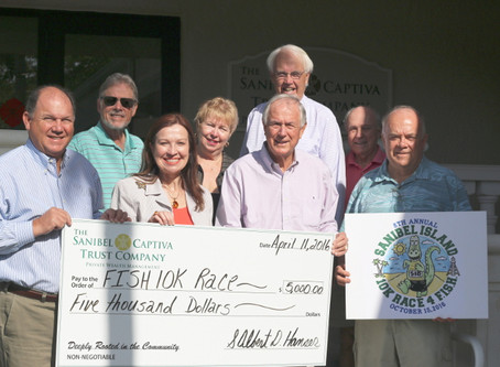 Sanibel Captiva Trust Co. Returns as Sole Premier Sponsor of 8th Annual 10K Race 4 F.I.S.H.