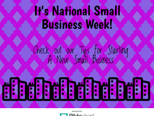 It's National Small Business Week!