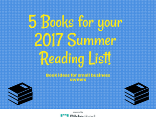 5 Books for Small Business Summer Reading