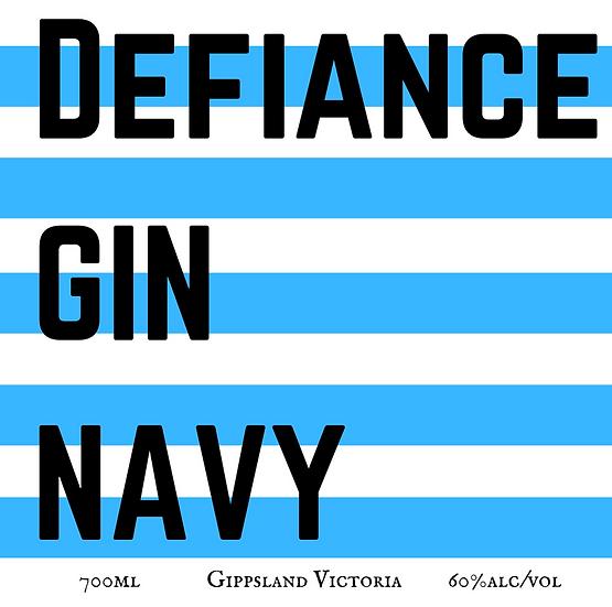 Defiance Gin Navy