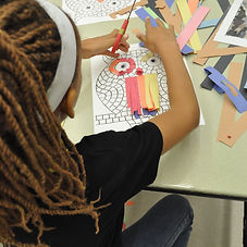 school mosaic workshop
