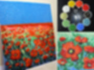 Poppy Field mosaic