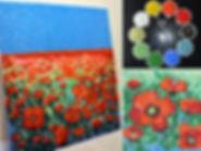 Poppy Field mosaic