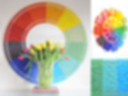 Colour Wheel mirror