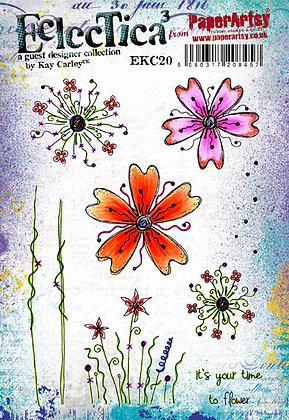 Kay Carley EKC20 stamp set