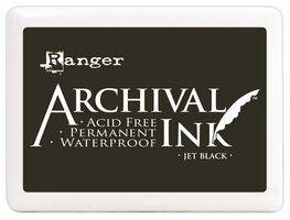 Archival Jet Black inkpad