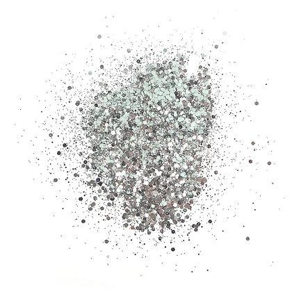 Silver Chrome Glitterbitz