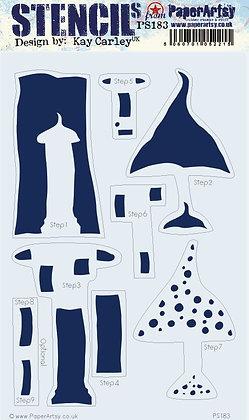 Kay Carley PS183 Stencil