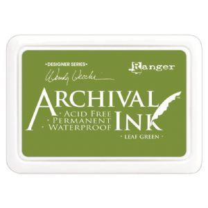 Archival Leaf Green inkpad