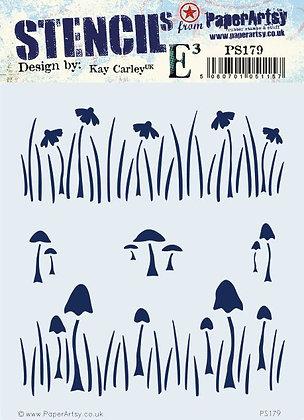 Kay Carley PS179 Stencil