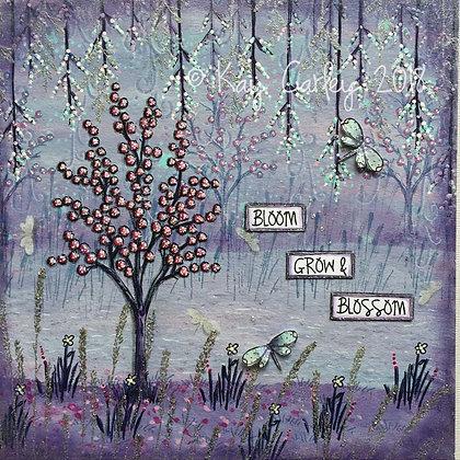 Spring Trees at Twilight