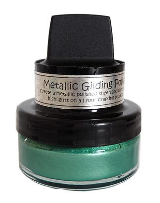 Cosmic Shimmer Metallic Gilding Polish - Fern