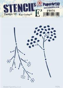 Kay Carley PS076 Stencil
