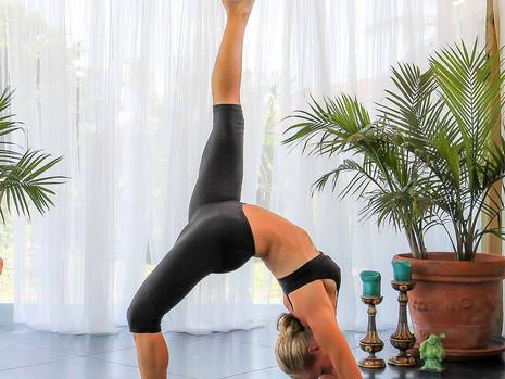 Yoga. I'm Down Dog!