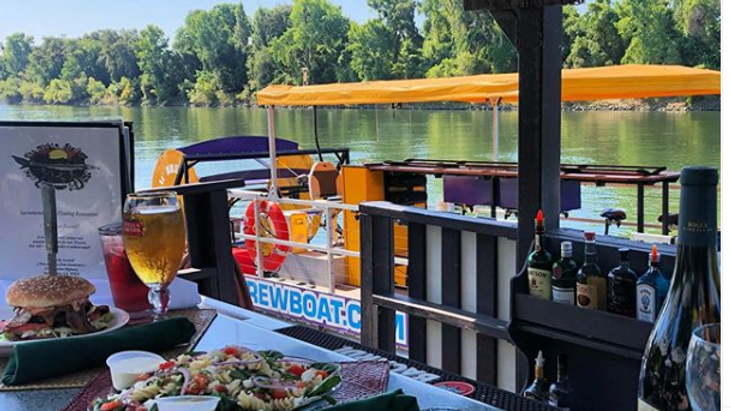 Wine Tasting Tour with Sac Brew Boat (Final price in cart )