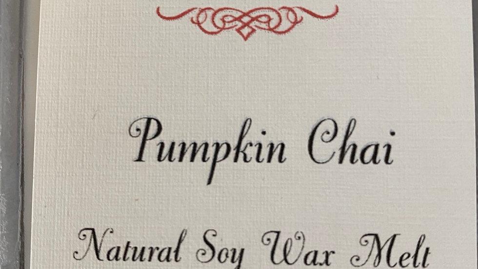 Pumpkin Chai Wax Melt