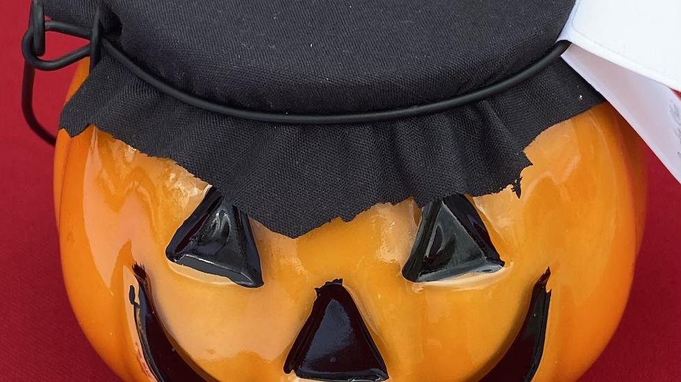 Pumpkin Chai Jack o Lantern