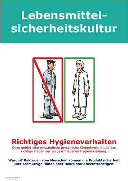 Lebensmittelsicherheitskultur: Hygieneverhalten