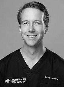 Dr Craig Mallore, dentist, Cardiff, Wales, Oral Surgeon, teeth