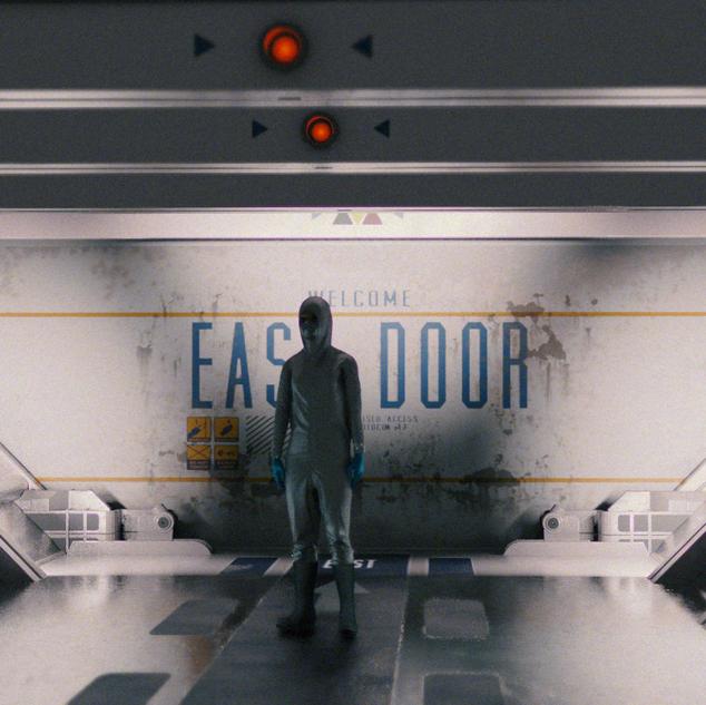 Sci Fi Corridor Concept Art