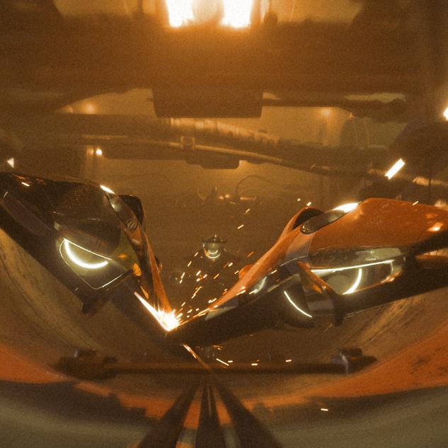 Concept Art: Future F1 Car