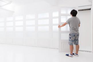 取り外し可能な窓壁