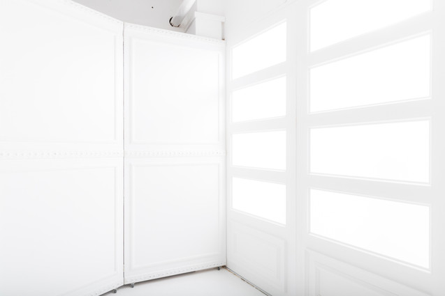 窓裏方ライテイィング例