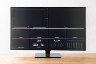 43型の4K対応大画面モニター