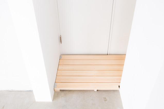 簡易更衣スペース