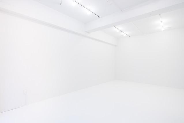 左手の白壁