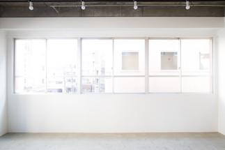 開放的な大きな窓