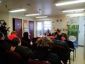 Conférence de presse pour le nouveau logement de transition à Cowansville novembre 2018