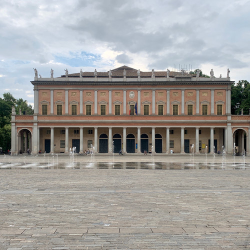 Das Teatro Municipale in Reggio Emilia.